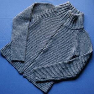 100% Merino Wool Zip Cardigan from Banana Republic